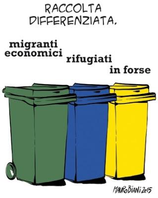 vignette_Mauro Biani, Raccolta differenziata, manife28giu15