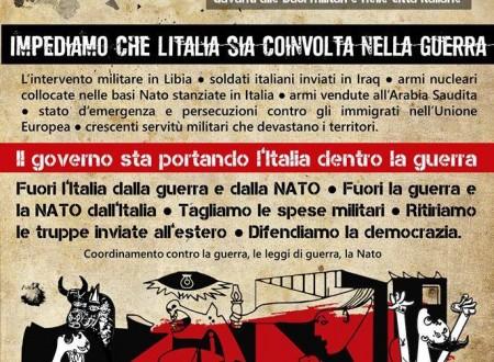 L'Italia sempre più provincia marginale dell'Impero. E' necessario e vitale opporsi alle guerre e difendere Pace e democrazia